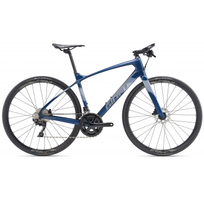 Giant FastRoad Advanced 1  Carbon Flatbar Road Bike 2019
