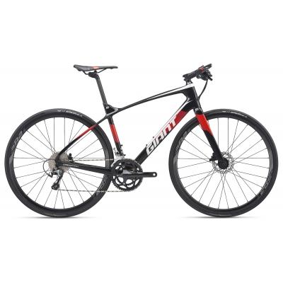 Giant FastRoad Advanced 2 Carbon Flatbar Road Bike 2019