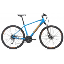 Giant Roam 2 Disc All Terrain Hybrid Bike, Vibrant Blu...