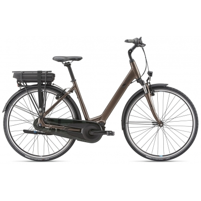 Giant Entour E+ 1 Low Step Thru Electric Hybrid Bike 2019