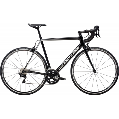 Cannondale SuperSix Evo 105 Carbon Road Bike (Silver) 2019