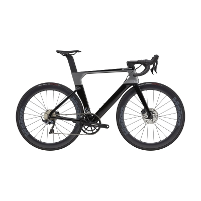 Cannondale SystemSix Carbon Ultegra Road Bike, Black Pearl 2021