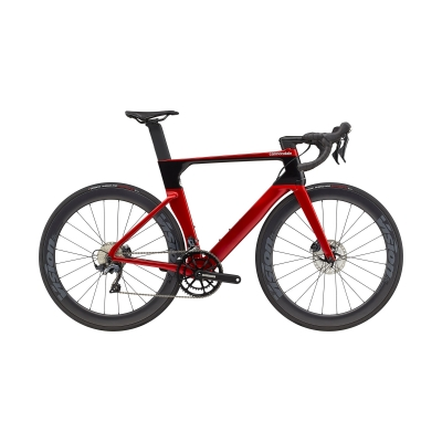 Cannondale SystemSix Carbon Ultegra Road Bike, Candy Red 2021