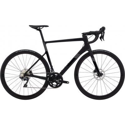 Cannondale SuperSix EVO Ultegra Disc Carbon Road Bike, Matte Black 2020