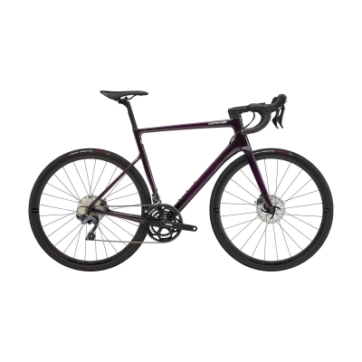 Cannondale SuperSix EVO Carbon Disc Ultegra Road Bike, Purple 2021