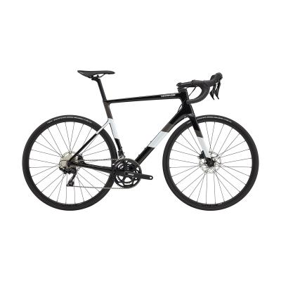 Cannondale SuperSix EVO Carbon Disc 105 Road Bike, Black Pearl 2021