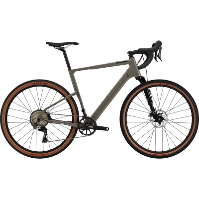 Cannondale Topstone Carbon Lefty 3, Stealth Gray, Gravel Bike 2021