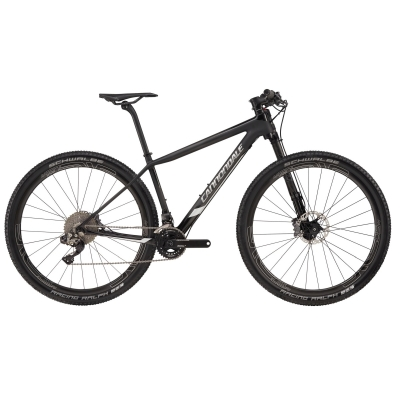 Cannondale FSi Hi-Mod Carbon Black Inc Mountain Bike 2018