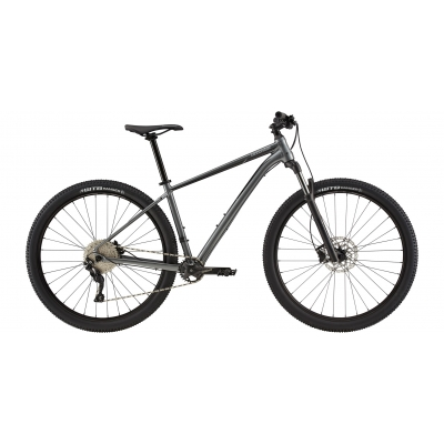 Cannondale Trail 4 Mountain Bike, Grey 2020
