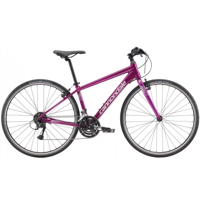 Cannondale Quick Fem 6 Women's Hybrid Bike, Road Purple with Primer 2019
