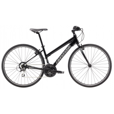 Cannondale Quick Fem 8 Women's Hybrid Bike, Black 2019