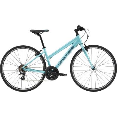 Cannondale Quick Fem 8 Women's Hybrid Bike, Aqua 2019
