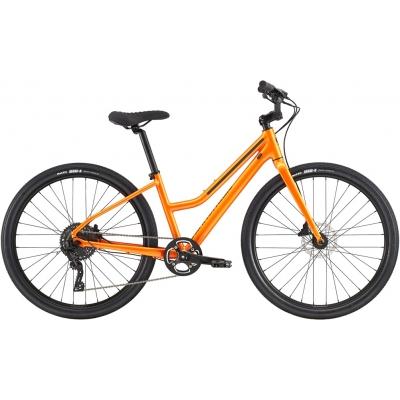 Cannondale Treadwell 2 Remixte Cruiser Bike, Orange Crush 2020