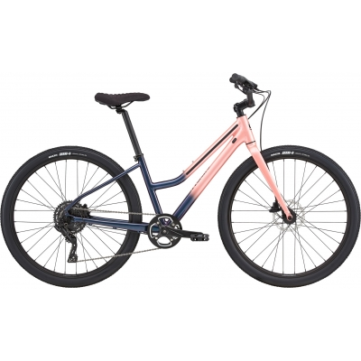 Cannondale Treadwell 2 Remixte Cruiser Bike, Cosmic Salmon 2020