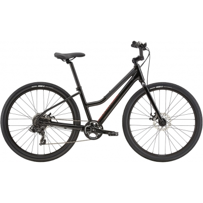 Cannondale Treadwell 3 Remixte Cruiser Bike, Black 2020