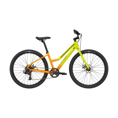 Cannondale Treadwell 3 Remixte Ltd City Bike, Highlighter 2021