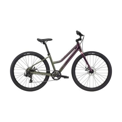 Cannondale Treadwell 3 Remixte Ltd City Bike, Rainbow Trout 2021