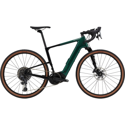 Cannondale Topstone Neo Carbon Lefty 1, Carbon Electric Gravel Bike 2021