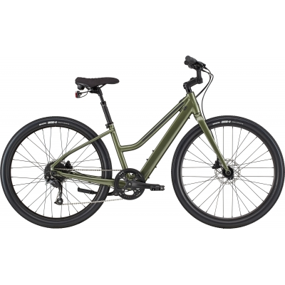 Cannondale Treadwell NEO ReMixte Electric Cruiser Bike, Midnight 2020