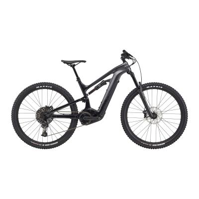 Cannondale Moterra Neo 3 Plus Electric Mountain Bike, Matte Black 2021