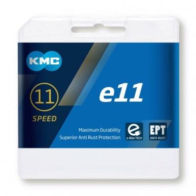 KMC E11 EPT 11-Speed E-Bike Chain 122L