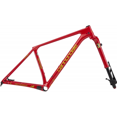 Cannondale  FSi HiMod Throwback Retro Carbon 29er Frameset, Viper Red