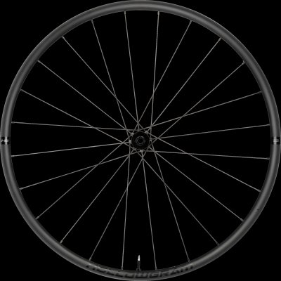 Cannondale Hollowgram 22 Disc 100x12 Shimano Front Wheel, Black, 700c, K8704070