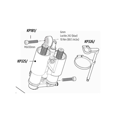 Cannondale Dyad Sag Indicator, KP326