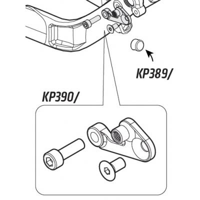 Cannondale Habit, Trigger Front Derailleur Mount, KP390