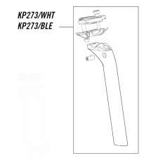 Cannondale Slice RS Seatpost Kit, KP273, Black