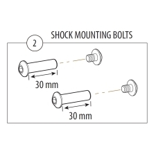 Cannondale Rize, Rush 29er Shock Mounting Hardware, KP...