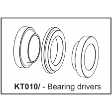 Cannondale BB30 Bearing Installer Cups, KT010