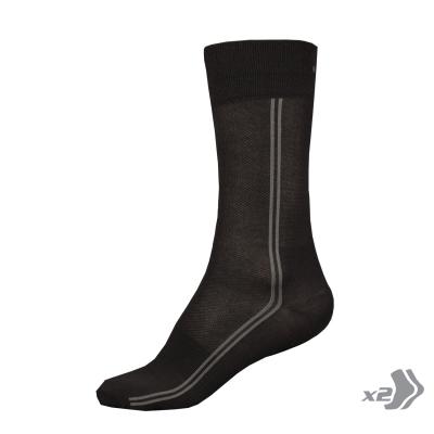 Endura CoolMax Long Socks (Twin Pack)