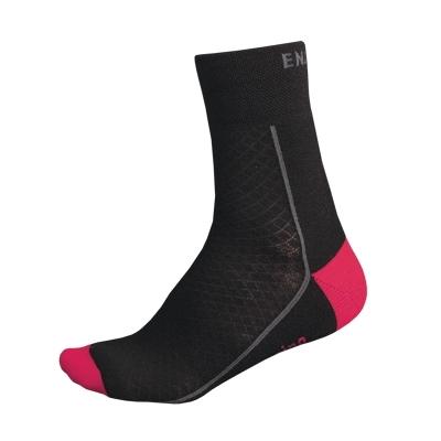 Endura Women's BaaBaa Merino Winter Socks, Pink