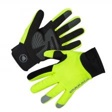 Endura Strike Waterproof Gloves, Hi-viz Yellow