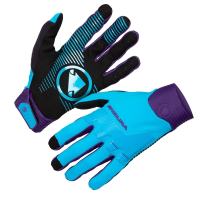 Endura MT500 D3O Glove, ElectricBlue