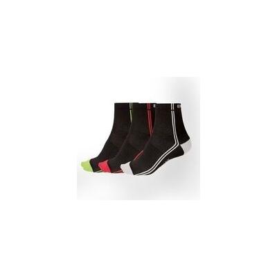 Endura CoolMax Stripe II Socks (Triple Pack)