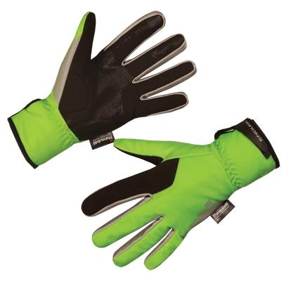 Endura Deluge II Glove, Hi-vis Green