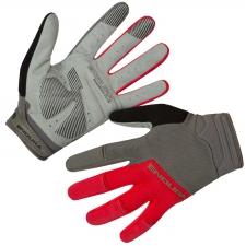 Endura Hummvee Plus II Gloves, Red