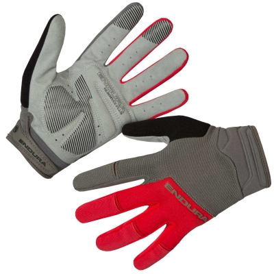 Endura Hummvee Plus II Gloves, Red