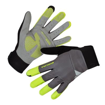 Endura Windchill Glove, Hi-Vis Yellow