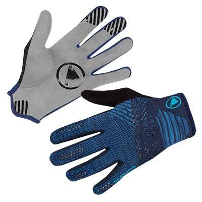 Endura SingleTrack LiteKnit Glove, Navy