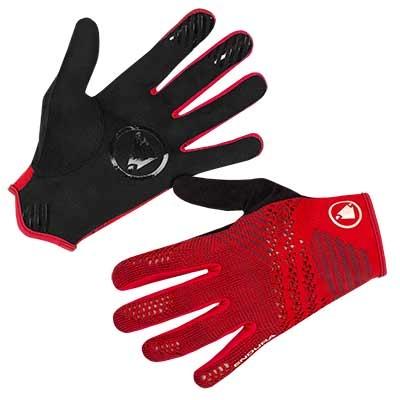 Endura SingleTrack LiteKnit Glove, Red