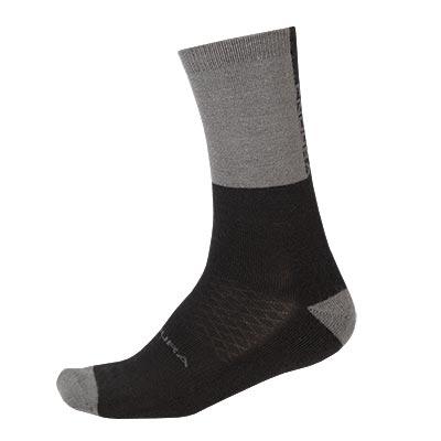 Endura Baabaa Merino Winter Sock, Black