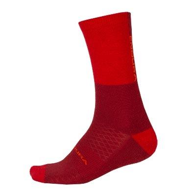 Endura Baabaa Merino Winter Sock, Rust Red
