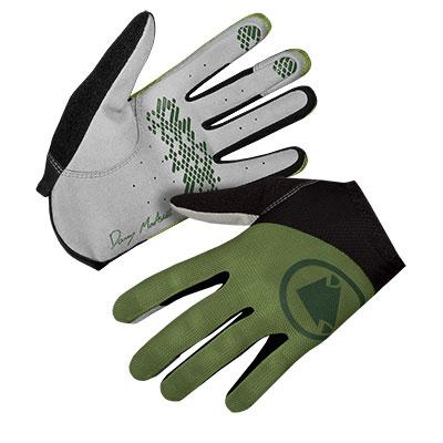 Endura Hummvee Lite Icon Glove, Olive Green