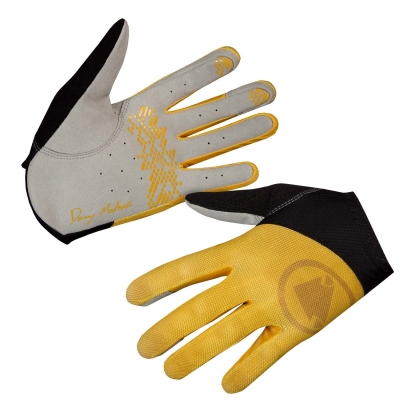 Endura Hummvee Lite Icon Gloves, LTD, Mustard Yellow