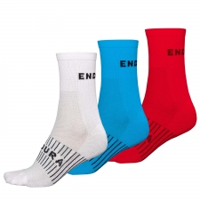 Endura Coolmax Race Socks (Triple Pack)