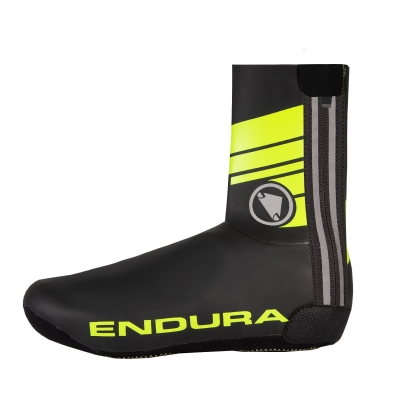 Endura Road Overshoes, Hi-viz Yellow