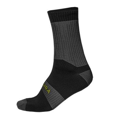 Endura Hummvee Waterproof Sock II, Black